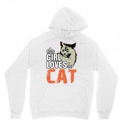 This Girl Loves Her Cat Unisex Hoodie   Artistshot