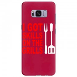 got skills on the grills apron Samsung Galaxy S8 Plus Case | Artistshot
