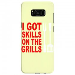 got skills on the grills apron Samsung Galaxy S8 Case | Artistshot