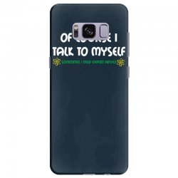 geek expert advice   science   physics   nerd t shirt Samsung Galaxy S8 Plus Case | Artistshot