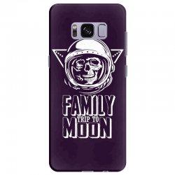 Family Trip To Moon Samsung Galaxy S8 Plus Case | Artistshot