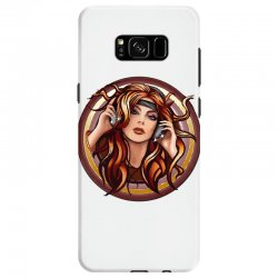 music girl Samsung Galaxy S8 Case | Artistshot