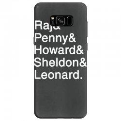 big theory list Samsung Galaxy S8 Case | Artistshot
