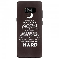 We Choose to Go to The Moon Samsung Galaxy S8 Case | Artistshot