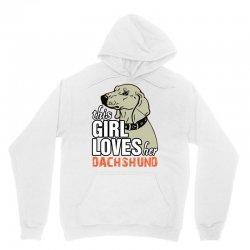 This Girl Loves Her Dachshund Unisex Hoodie | Artistshot
