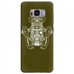 musician monkey robot Samsung Galaxy S8 Plus Case | Artistshot