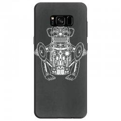 musician monkey robot Samsung Galaxy S8 Case | Artistshot