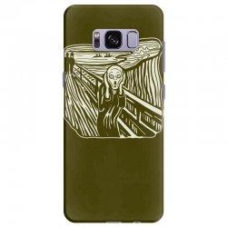 the scream Samsung Galaxy S8 Plus Case | Artistshot