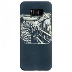 the scream Samsung Galaxy S8 Case | Artistshot