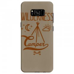 wilderness camper Samsung Galaxy S8 Case | Artistshot