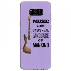 music quotes Samsung Galaxy S8 Case | Artistshot