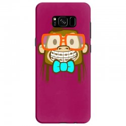 geek monkey Samsung Galaxy S8 Case | Artistshot