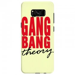 the gang bang theory Samsung Galaxy S8 Case | Artistshot