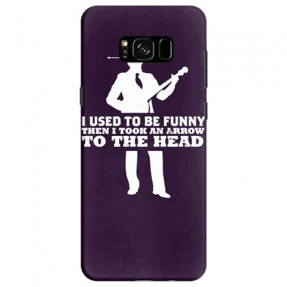 I Used To Be Funny Samsung Galaxy S8 Case Designed By Specstore