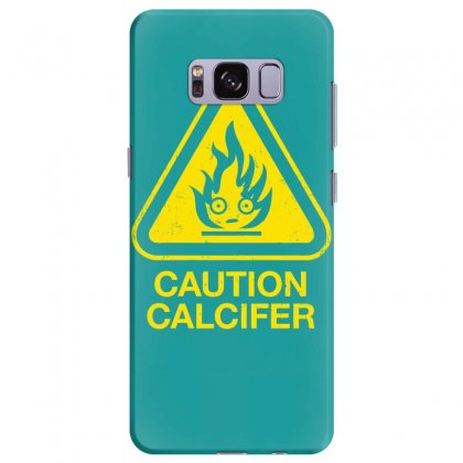 Caution Calcifer Samsung Galaxy S8 Plus Case Designed By Specstore