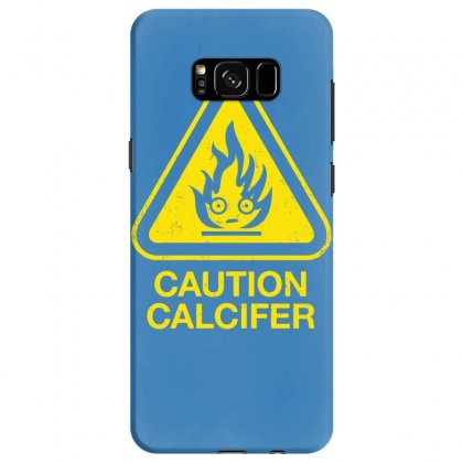 Caution Calcifer Samsung Galaxy S8 Case Designed By Specstore
