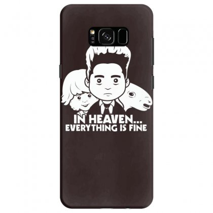 Saturday Morning Eraserhead Samsung Galaxy S8 Case Designed By Specstore