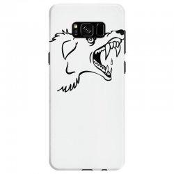 Screaming Mad Dog Samsung Galaxy S8 Case | Artistshot