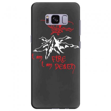 Fire And Death Samsung Galaxy S8 Plus Case Designed By Specstore