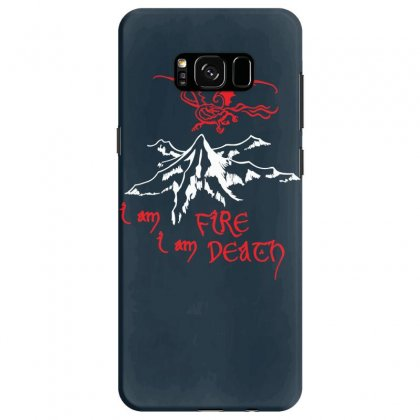 Fire And Death Samsung Galaxy S8 Case Designed By Specstore
