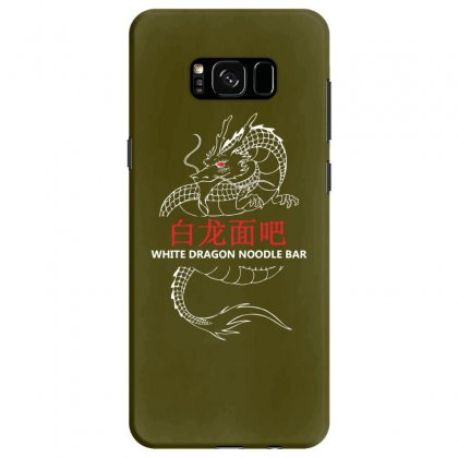 White Dragon Noodle Bar Samsung Galaxy S8 Case Designed By Specstore