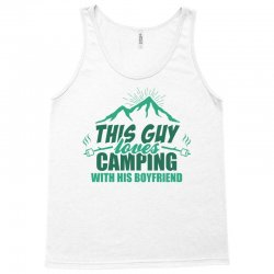 This Guy Loves Camping With His Boyfriend Tank Top | Artistshot