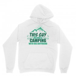 This Guy Loves Camping With His Boyfriend Unisex Hoodie | Artistshot