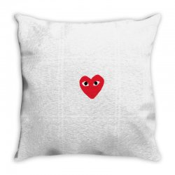 comme des garcons play Throw Pillow | Artistshot