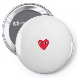 comme des garcons play Pin-back button | Artistshot