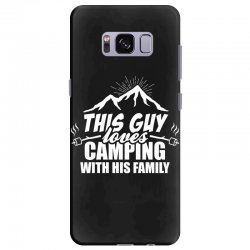 This Guy Loves Camping With His Family Samsung Galaxy S8 Plus Case | Artistshot