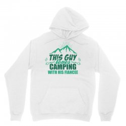 This Guy Loves Camping With His Fiancee Unisex Hoodie   Artistshot