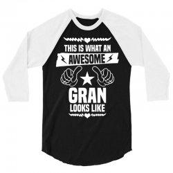 Awesome Gran Looks Like 3/4 Sleeve Shirt | Artistshot