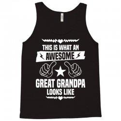 Awesome Great Grandpa Looks Like Tank Top | Artistshot