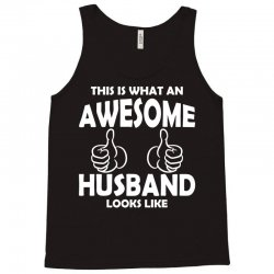 Awesome Husband Looks Like Tank Top | Artistshot