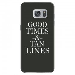 good times and tan lines Samsung Galaxy S7 Case | Artistshot