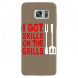 got skills on the grills apron Samsung Galaxy S7 Case | Artistshot