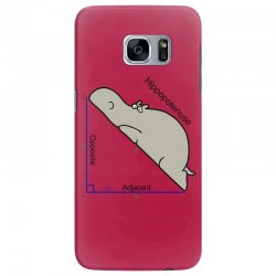 hypotenuse math humor Samsung Galaxy S7 Edge Case | Artistshot