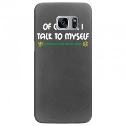 geek expert advice   science   physics   nerd t shirt Samsung Galaxy S7 Edge Case | Artistshot