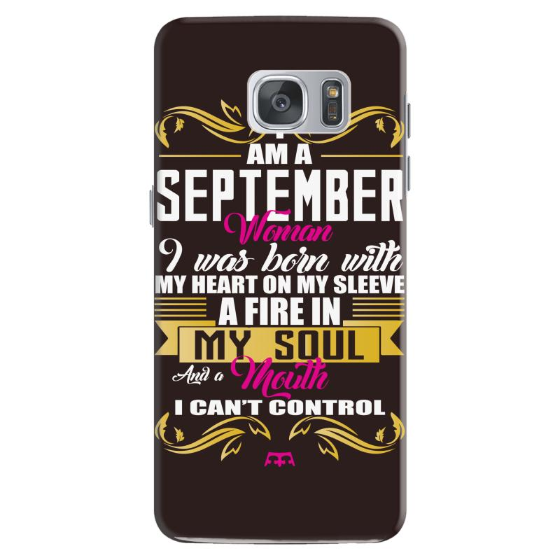I Am A September Women Samsung Galaxy S7 Case | Artistshot