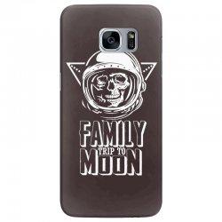 Family Trip To Moon Samsung Galaxy S7 Edge Case | Artistshot