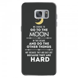 We Choose to Go to The Moon Samsung Galaxy S7 Case | Artistshot
