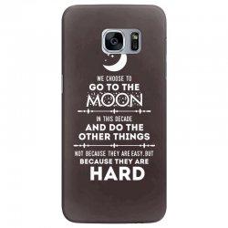 We Choose to Go to The Moon Samsung Galaxy S7 Edge Case | Artistshot