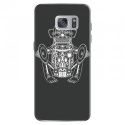 musician monkey robot Samsung Galaxy S7 Case | Artistshot