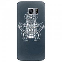 musician monkey robot Samsung Galaxy S7 Edge Case | Artistshot