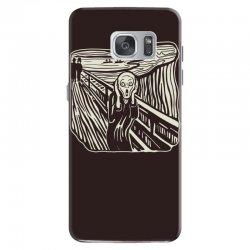 the scream Samsung Galaxy S7 Case | Artistshot