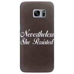 Neveretheless she persisted Samsung Galaxy S7 Edge Case | Artistshot
