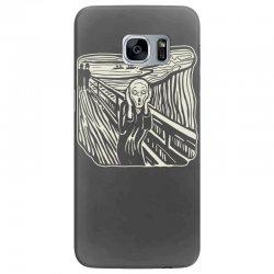the scream Samsung Galaxy S7 Edge Case | Artistshot