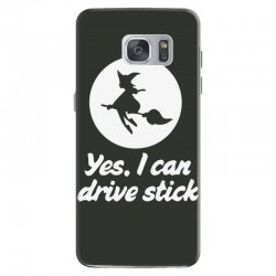 yes, i can drive stick Samsung Galaxy S7 Case | Artistshot