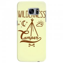 wilderness camper Samsung Galaxy S7 Edge Case | Artistshot