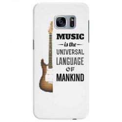music quotes Samsung Galaxy S7 Edge Case | Artistshot
